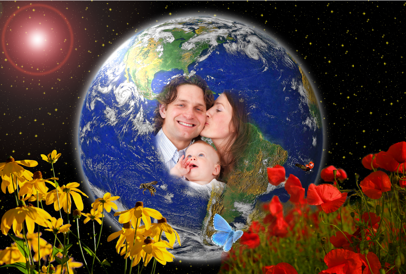 famille planete